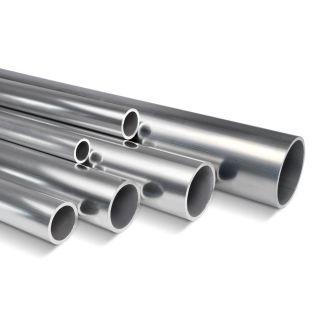 Steigerbuis 33.7 mm aluminium op maat nieuw