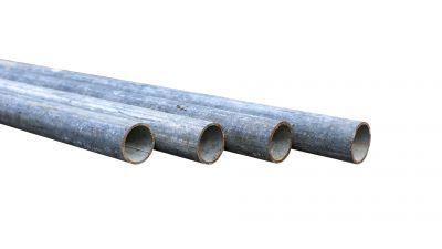 Steigerbuis 5,00m staal 48,3mm gebruikt