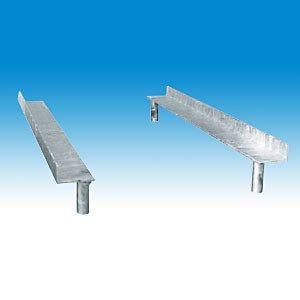 Bouwhek stapelprofiel voor hekpallet staand model 29 st