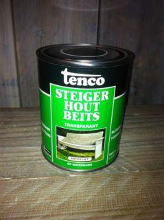 Steigerhout Antraciet wash beits 1 liter