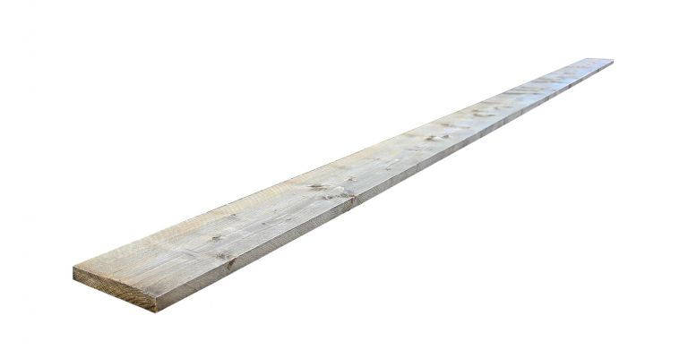 Steigerplank 4,50 m nieuw VINTAGE LOOK