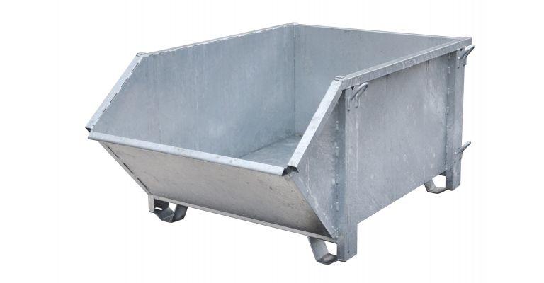 Afvalcontainer verzinkt 1000 liter