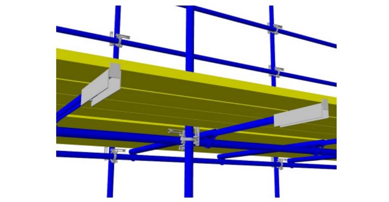 Tube lock 4-planksverlenger verzinkt nieuw