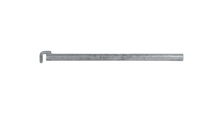 Ankerbuis 48,3mm met haak 0.60 meter nieuw