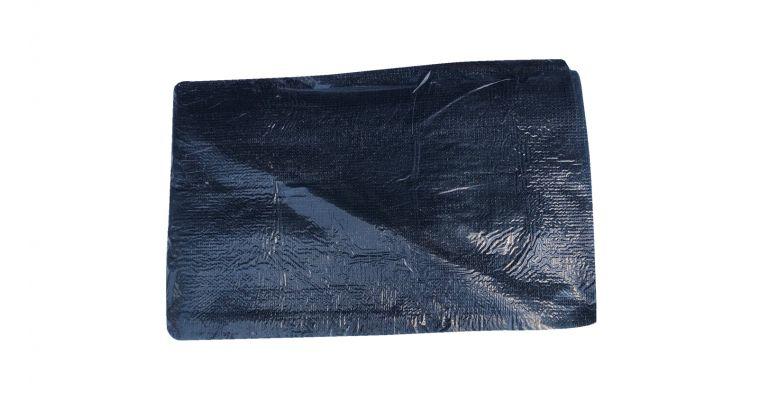 Bouwhekzeil brandvertragend zwart (tbv laag bouwhek)