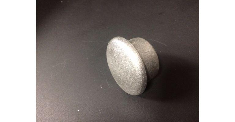 metaal  eindkap 33.7mm
