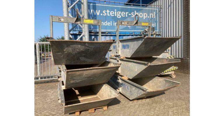 Crane Kraancontainer 1m3 gebruikt