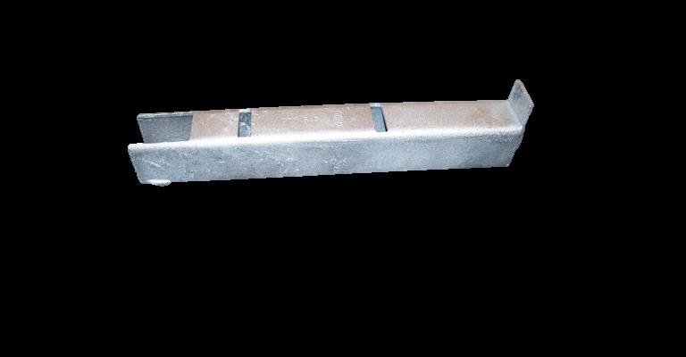 Tube lock 4-planksverlenger verzinkt gebruikt