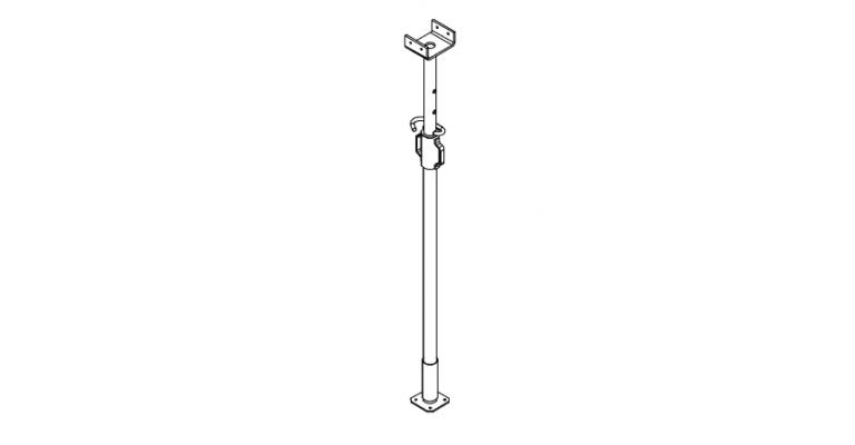 Schroefstempel verz.1,80-3,00m gebruikt