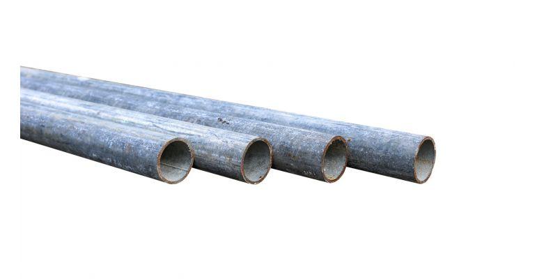 Steigerbuis 6,00m staal 48,3mm gebruikt