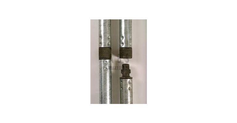 Van Thiel Tube Lock 4,00m aluminium nieuw