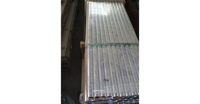 Steigerbuis 6,00m aluminium 42.4mm nieuw