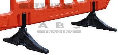 Losse voet t.b.v. kunststof dranghek