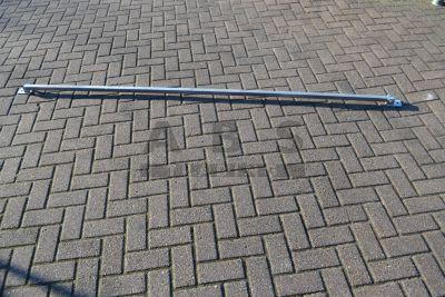 Kalkzandsteenschoor 2,50m met scharnierende voet nieuw