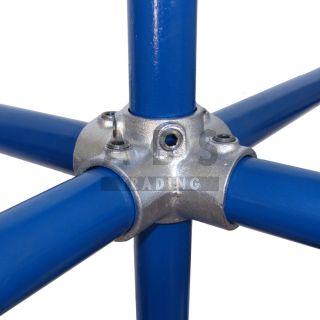 J24G15 4-weg 90 graden koppelstuk 21.3 mm