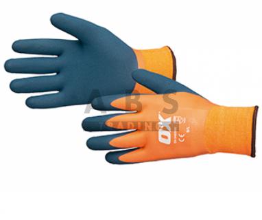 Latex thermisch werkhandschoen L