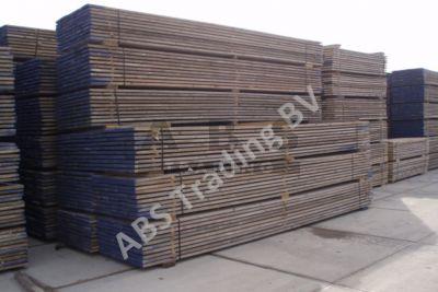 Steigerplanken  5,0 m gebruikt