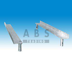 Bouwhek stapelprofiel voor hekpallet staand model 25 st