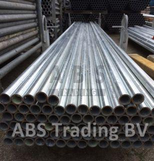 Steigerbuis 3,00m staal 33.7mm nieuw