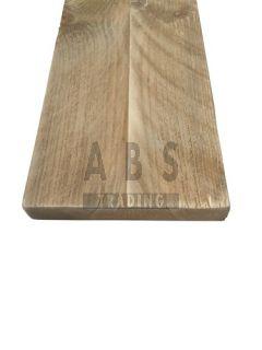 Vintage plank geschuurd