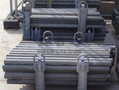 Steigerbuis 0,50m staal 48,3 mm gebruikt