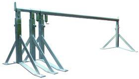 Stucadoorschraag verz uitschuifbaar 1,65-4,10m